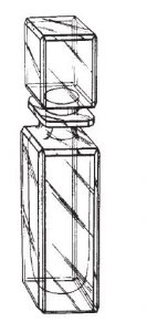Bottle - design drawing